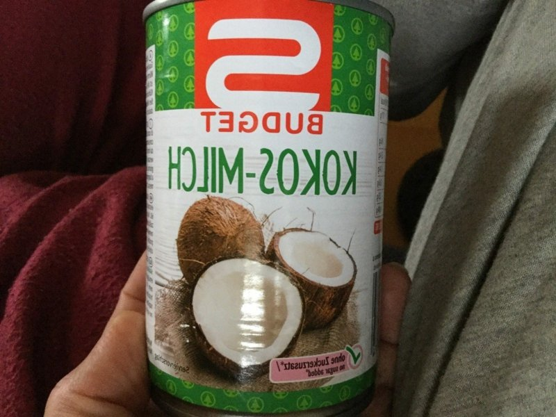 Kokosmilch aus der Dose