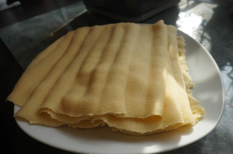 Lasgne Zutaten Lasagneblätter