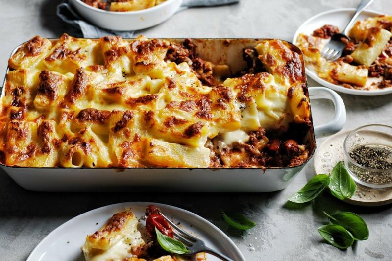 Mittagessen zubereiten italienische Küche