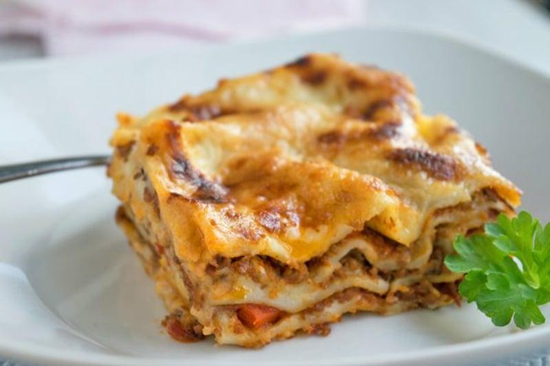 Lasagnerezept mit Kürbis