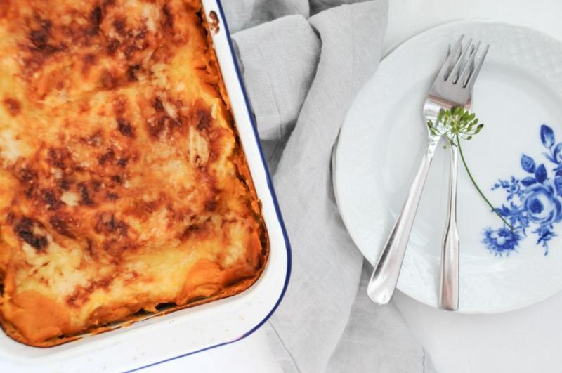 Lasagne servieren Vorschläge