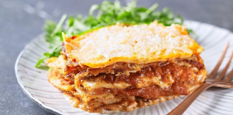 Jamie Oliver Lasagne Serviervorschlag