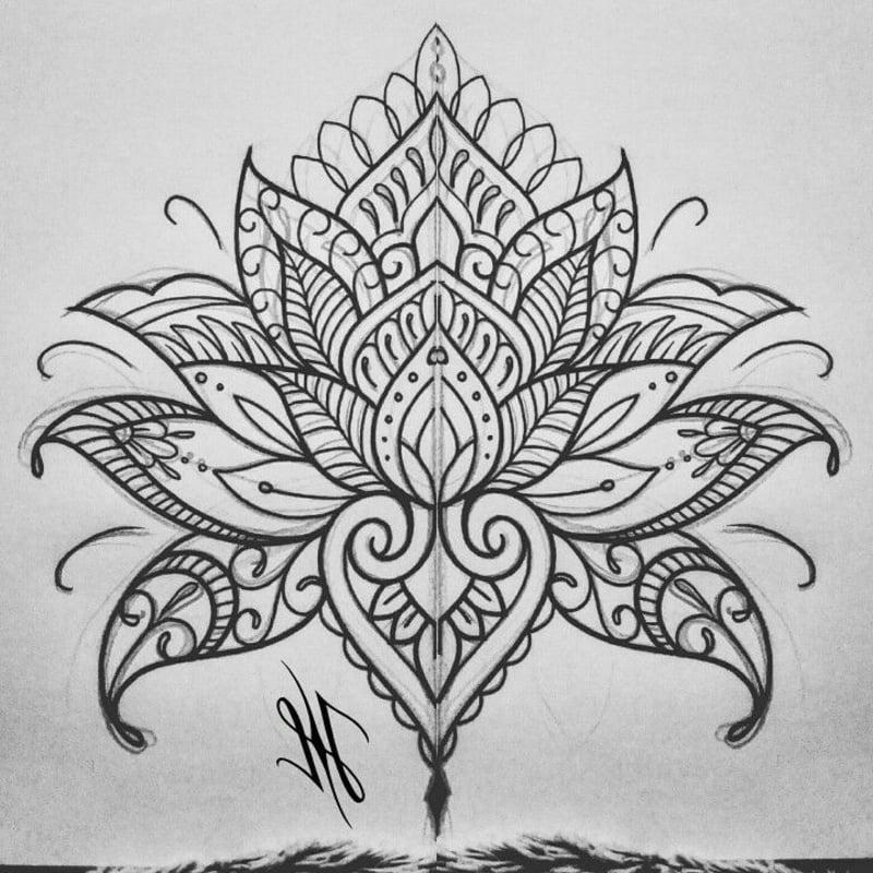 Tätowierung Lotusblume Bedeutung