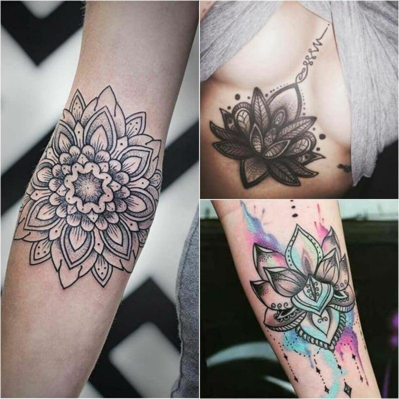 Tattoomotiv Lotus buddhistisch