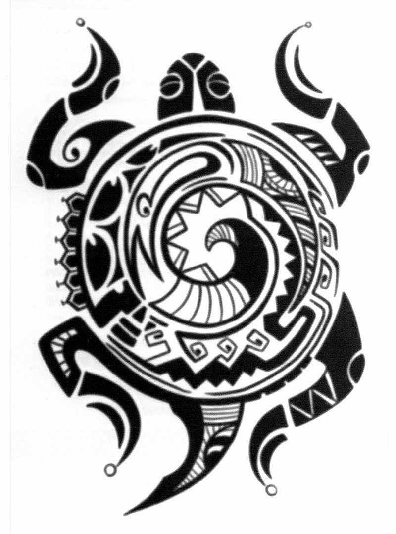 Turtle Tattoo polynesian Bedeutung