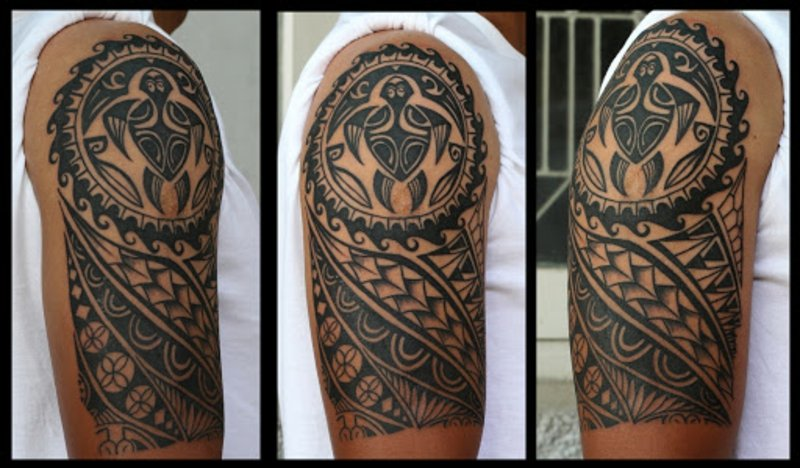 Maori Tattoo Arm Mann origineller Look