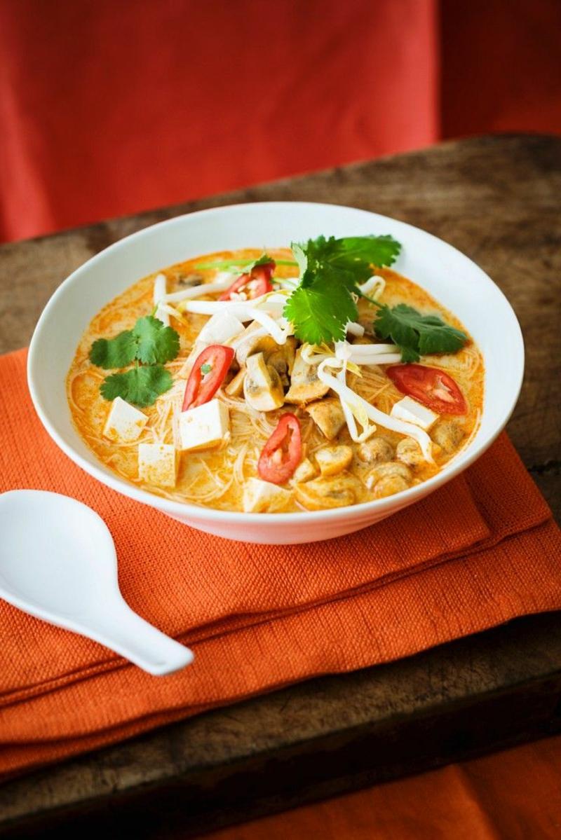 pikante Suppe mit Chili