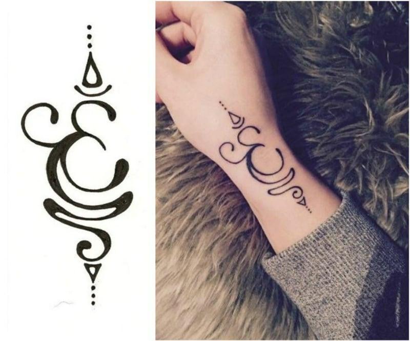 Buddhismus Tattoo Symbole