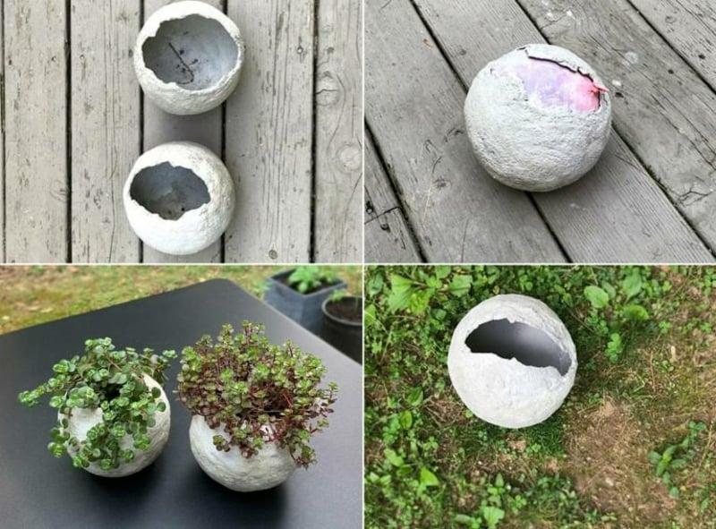 Pflanzenbehälter Außenbereich