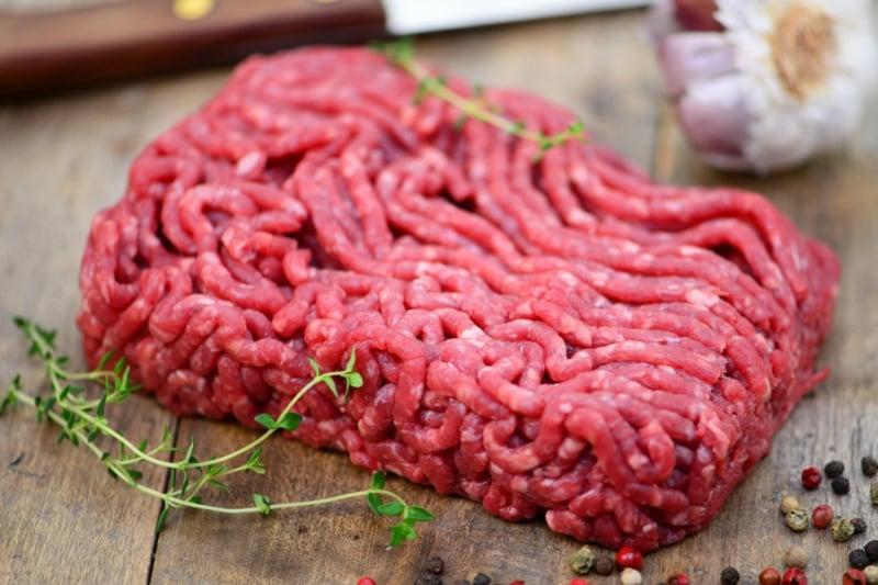 Rezept für Lasagne mit Rinderhackfleisch