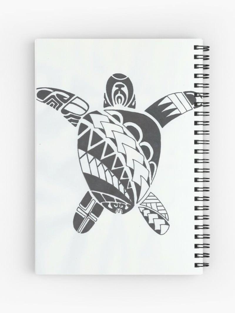 Tattoomotiv Schildkröte zeichnen