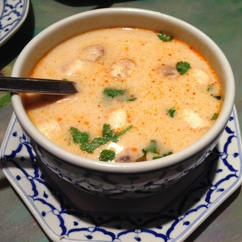 Kokosmilch Suppe selber machen