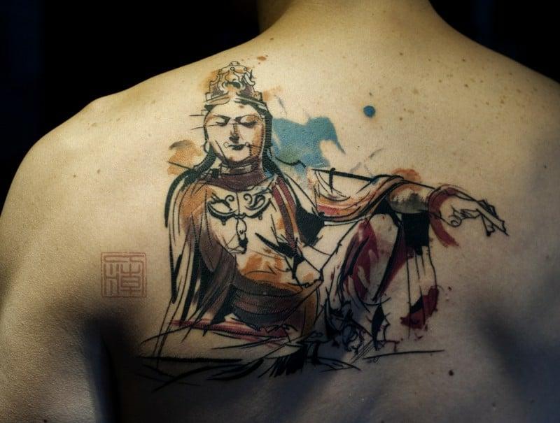 buddhistische Tattoos
