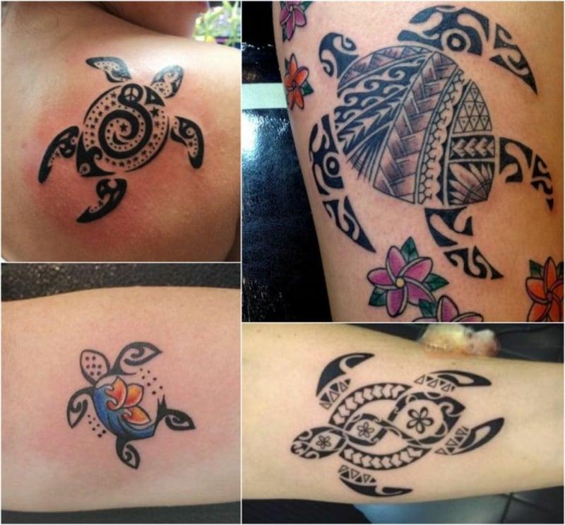 Schildkröte Tattoomotiv