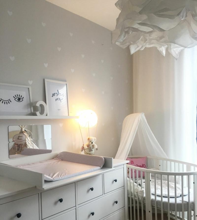 Babyzimmer einrichten Wickelkommode