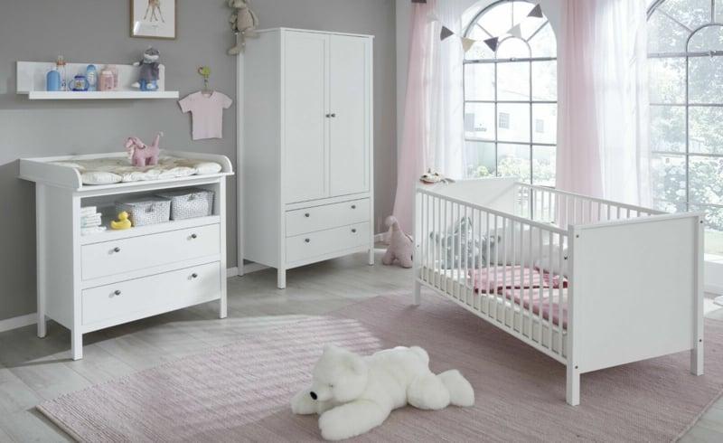 stilvolle Babyzimmer Einrichtung