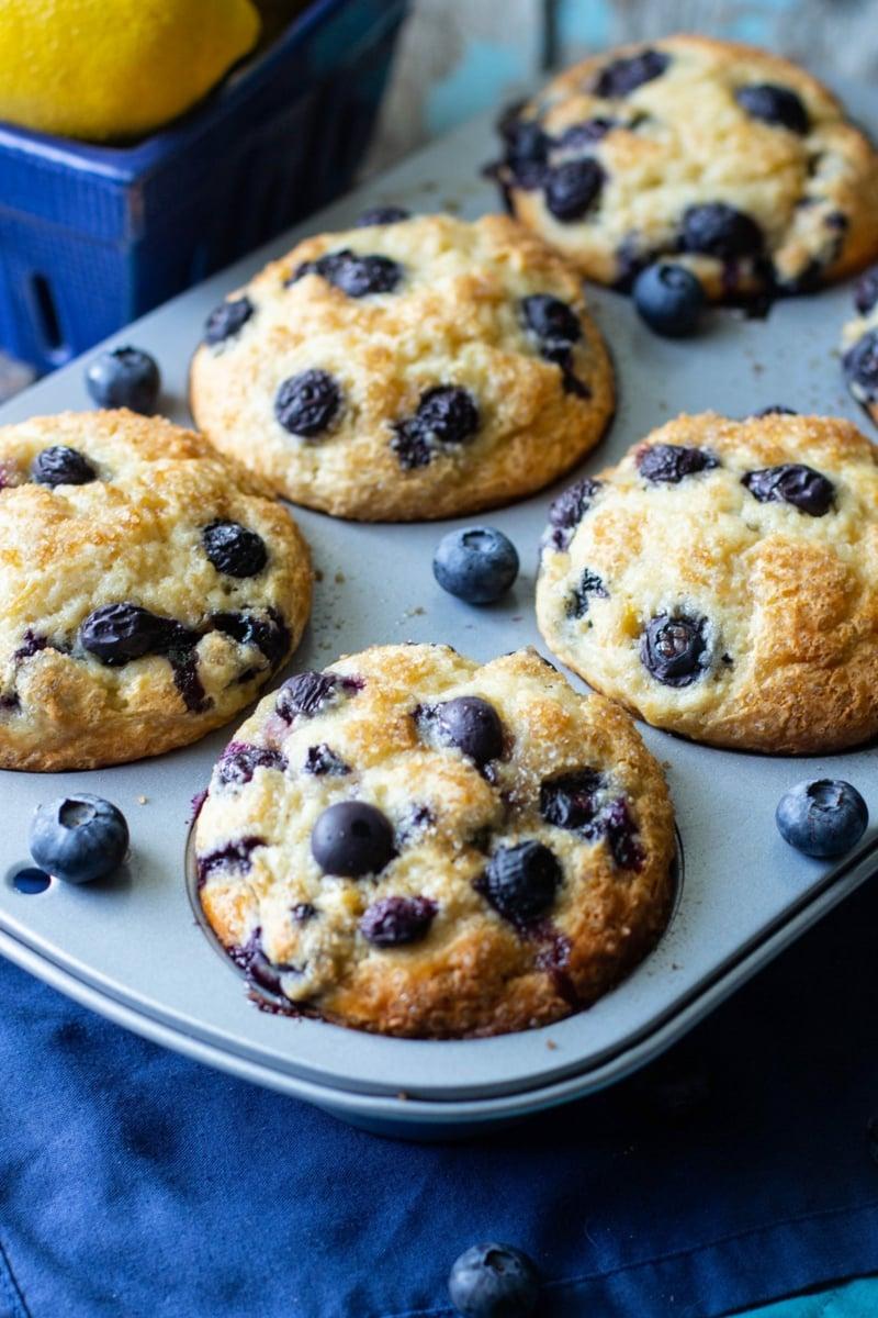 Muffins mit Blaubeeren selber bacjen