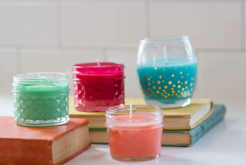 Duft Kerzen Glasbehälter
