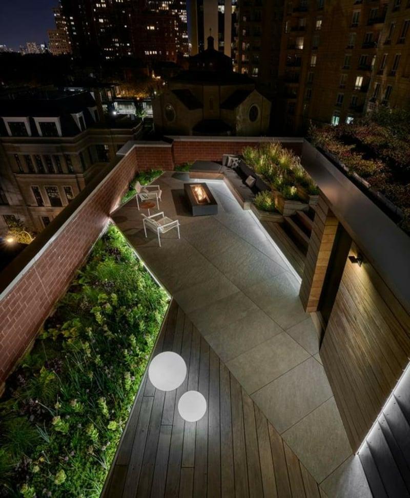 Dachterrasse modern