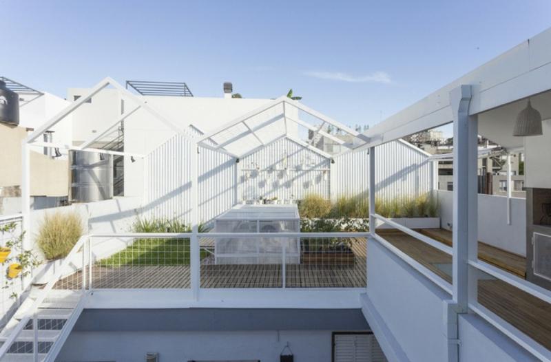 Gestaltungsideen modern Dachterrasse
