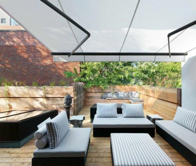 gemütliche Sitzecke Terrasse