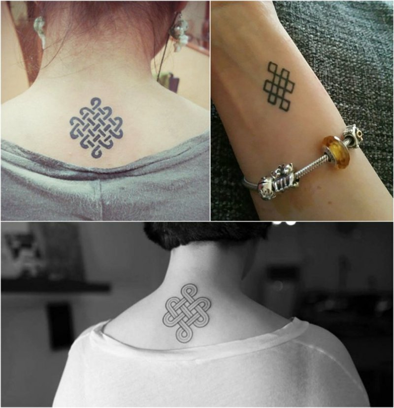 Tattoo ewiges Knoten