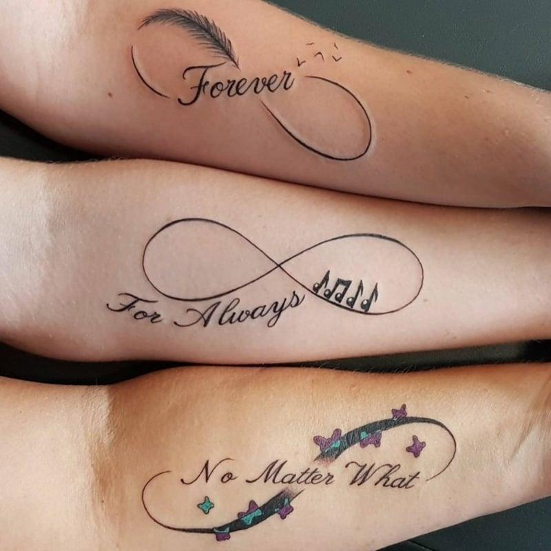 Tattoos für Partner und FReunde