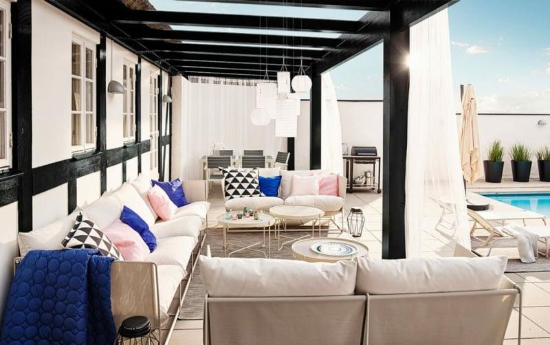 IKEA Gartenmöbel für ein Luxusambiente