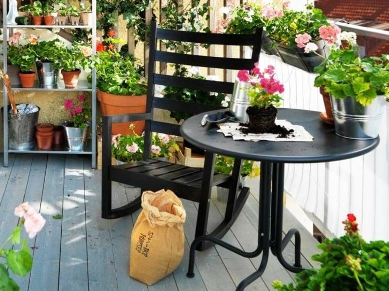 iKEA Gartenmöbel für kleine Terrassen