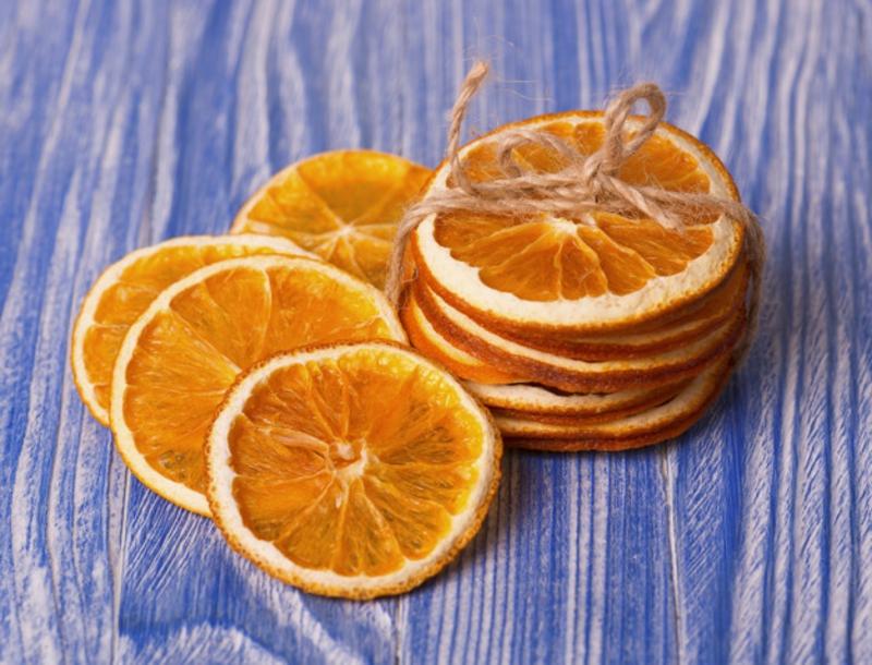 Aromazutaten trockene Orangenscheiben