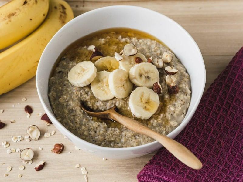 Almased Rezepte Müsli mit Bananen