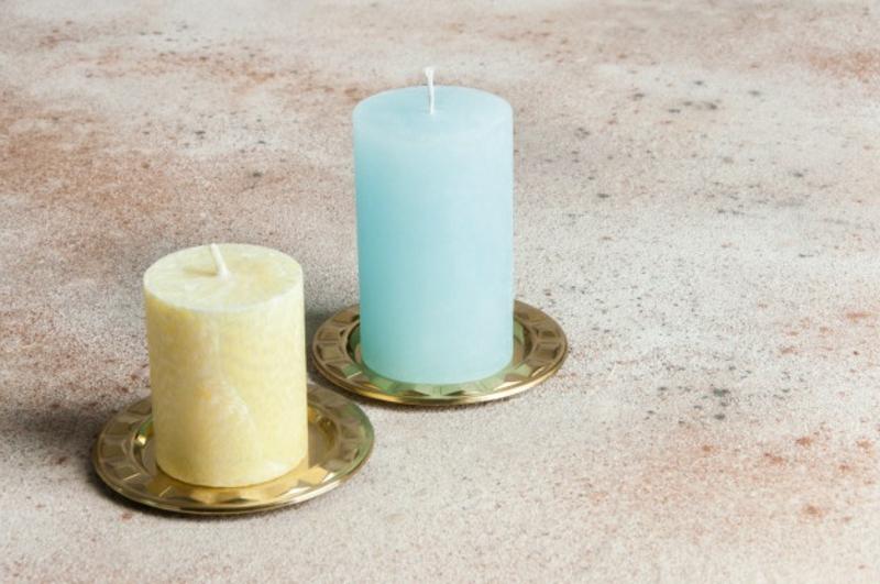 bunte Kerzen selber machen
