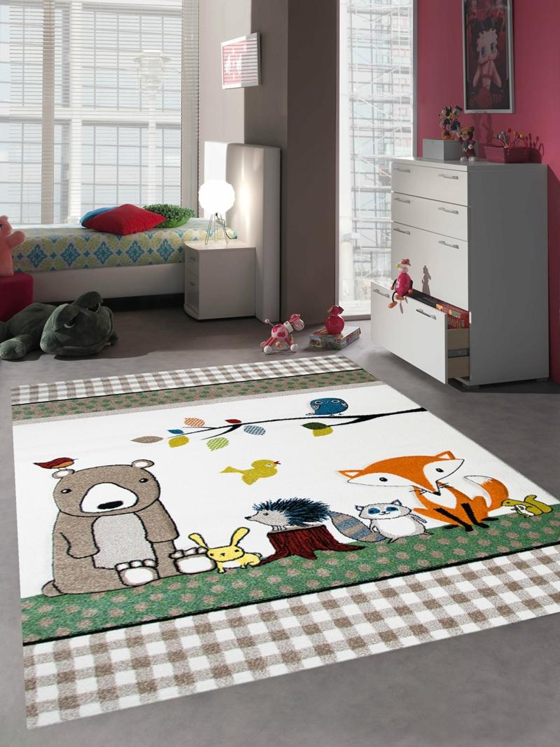 Kinderteppich süße Ideen