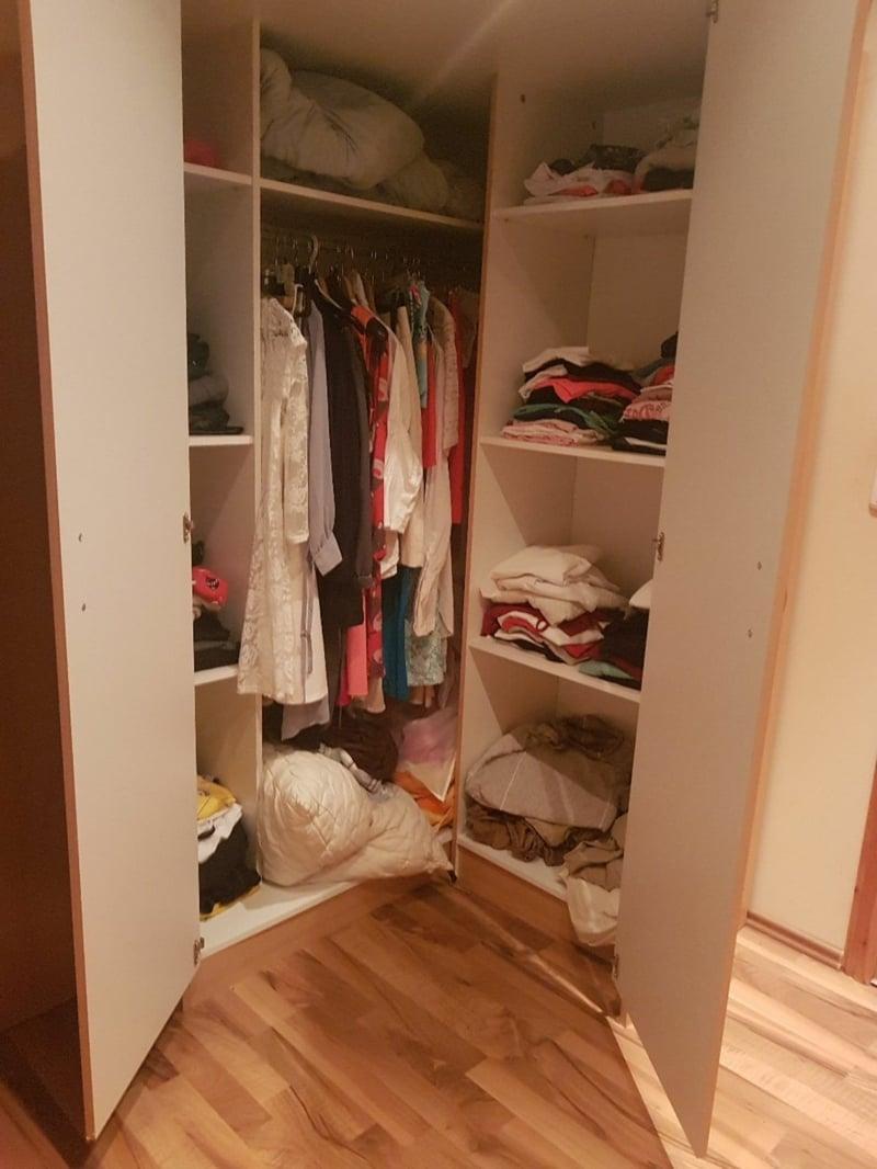 Kleiderschrank anordnen Ideen