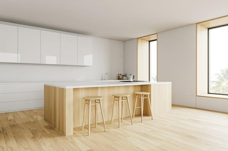 Kücheneinrichtung puristisch