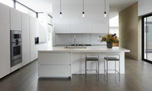 minimalistische Küche japanischer Stil