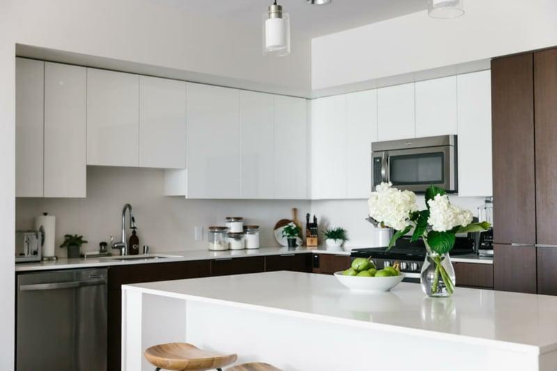 Kücheneinrichtung japanischer Stil
