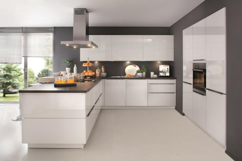 offener Wohnraum Küche sehr elegant
