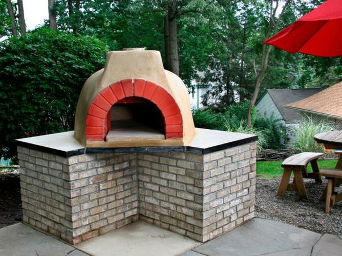 Pizzaofen Outdoor L-Form