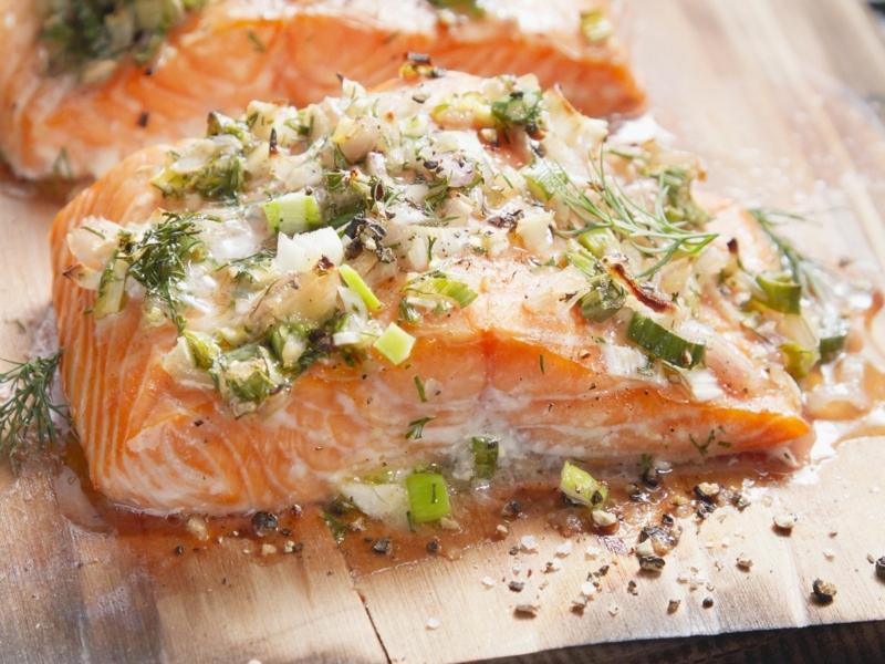 Lachs Rezepte mit Kräutern lecker