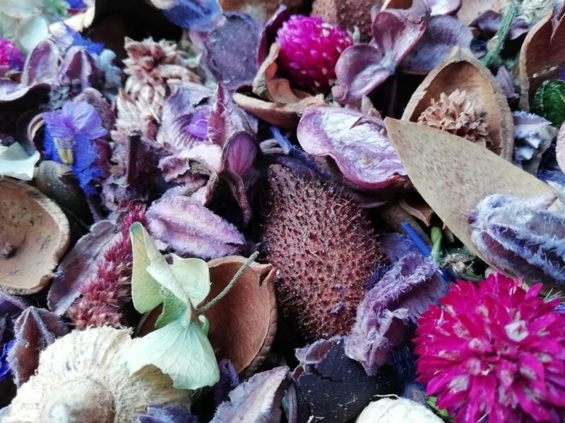 Lavendelpotpourri selber machen