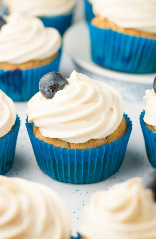 Cupcakes mit Frischkäse Frosting