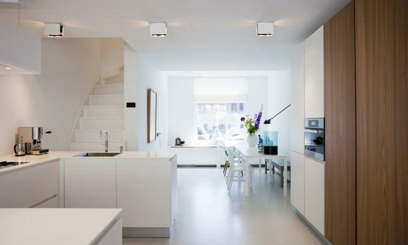 offener Wohnraum Küche modern japanischer Stil