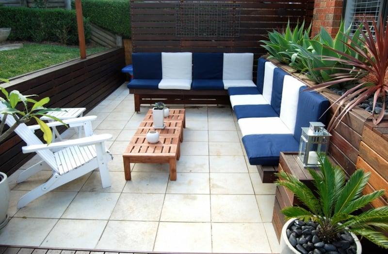 IKEA Gartenmöbel weiche Sitzkissen