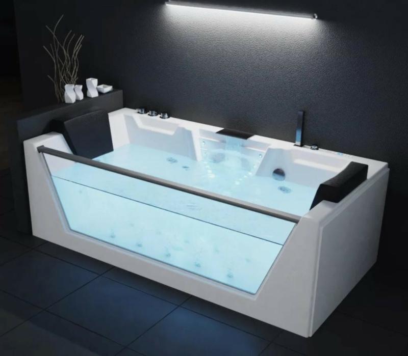 Whirlpool Badewanne modernes Design