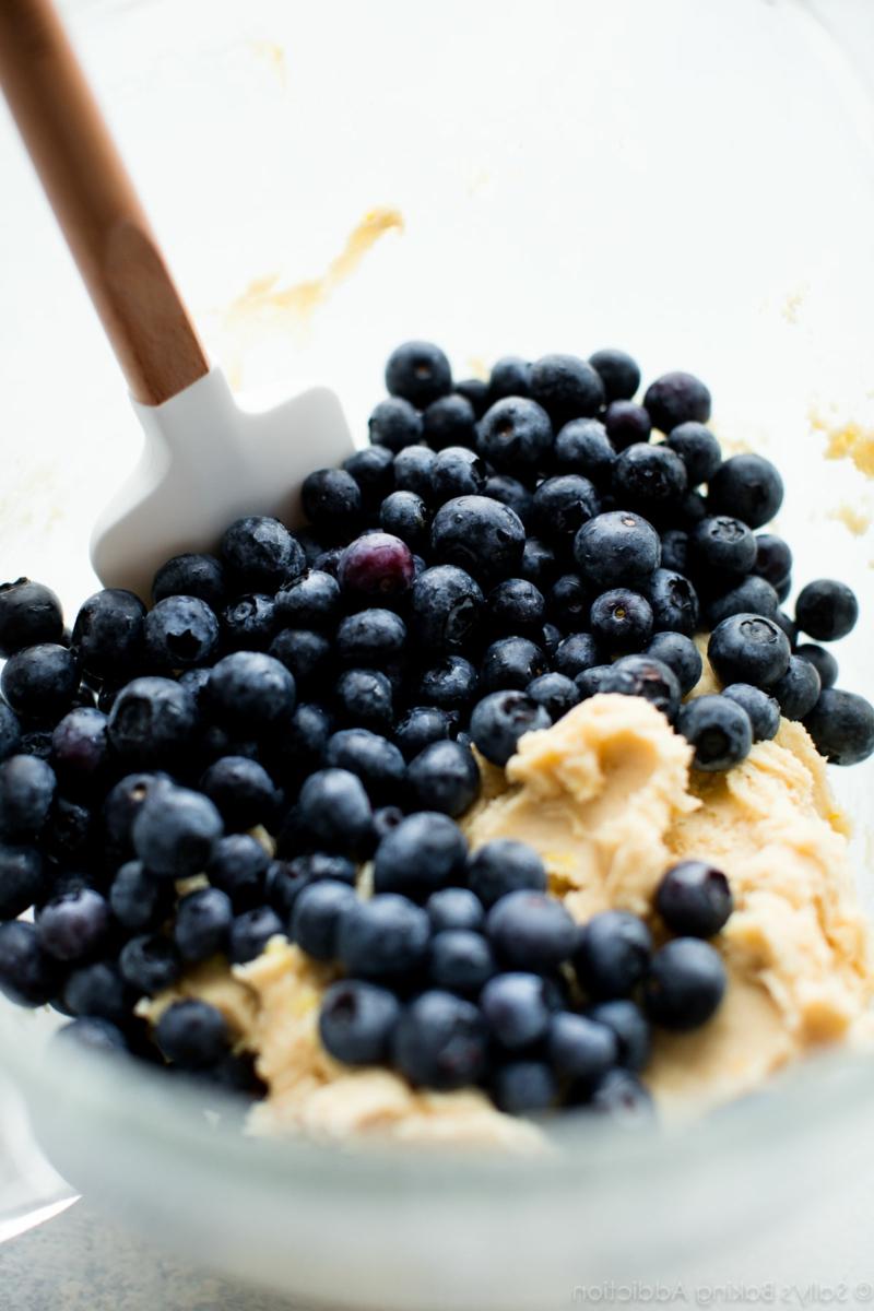 Muffinteig mit Beeren Rezept