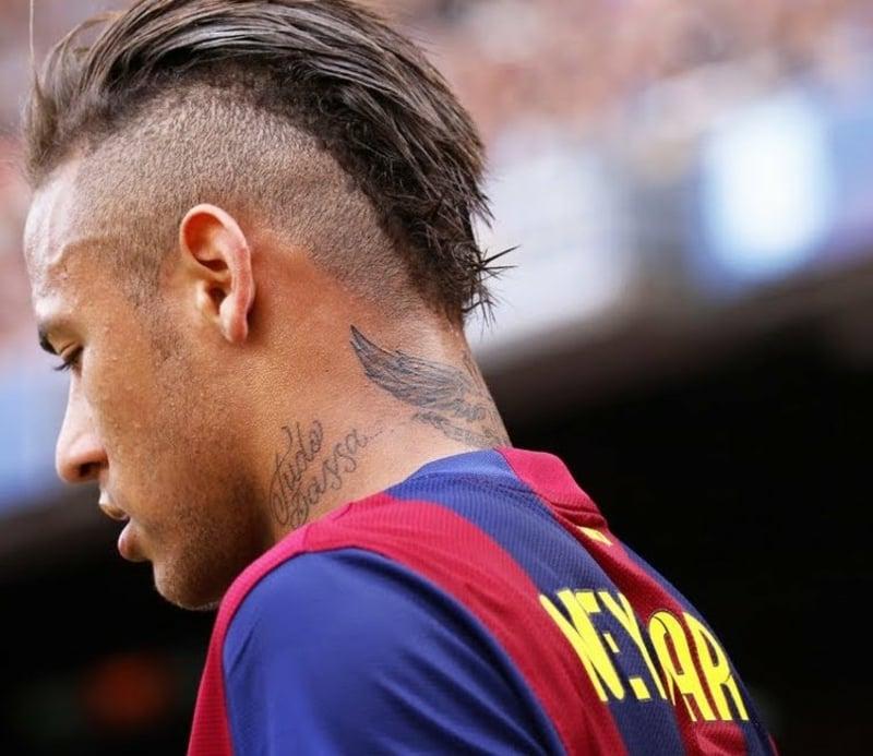 Irokese Männer Neymar