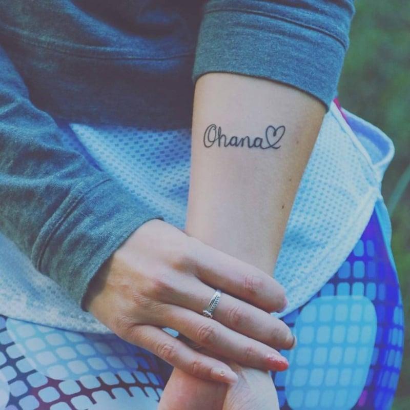 Ohana Tattoo Herz