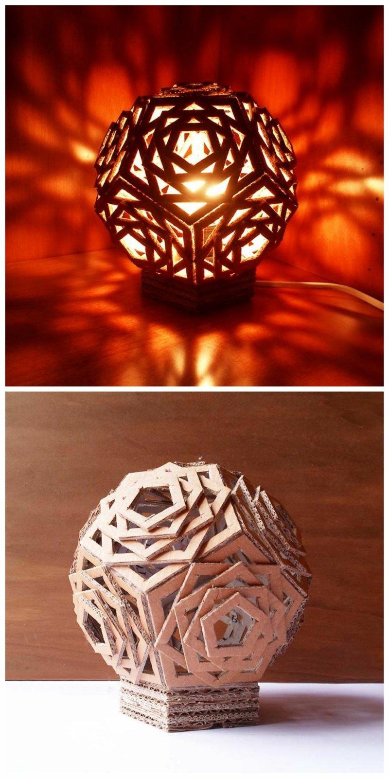 wunderschöne Stehlampe coole Lichteffekte
