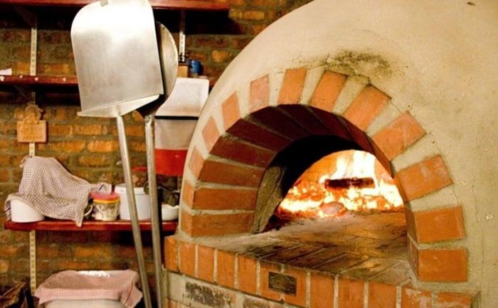 herrlicher Pizzaofen DIY